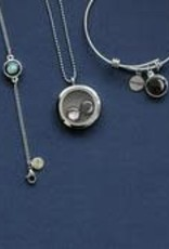 MOONGLOW JEWELRY Stainless Steel Locket with Bead Chain
