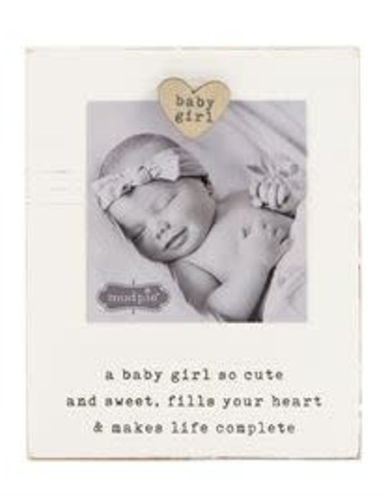 MUD PIE 177140 BABY GIRL FRAME