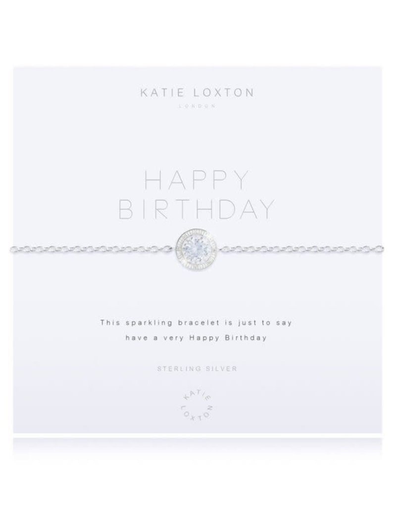 KATIE LOXTON *KLJ2772 SHINE ENGRAVED YELLOW GOLD BAR WITH MOONSTONE STONES - BRACELET
