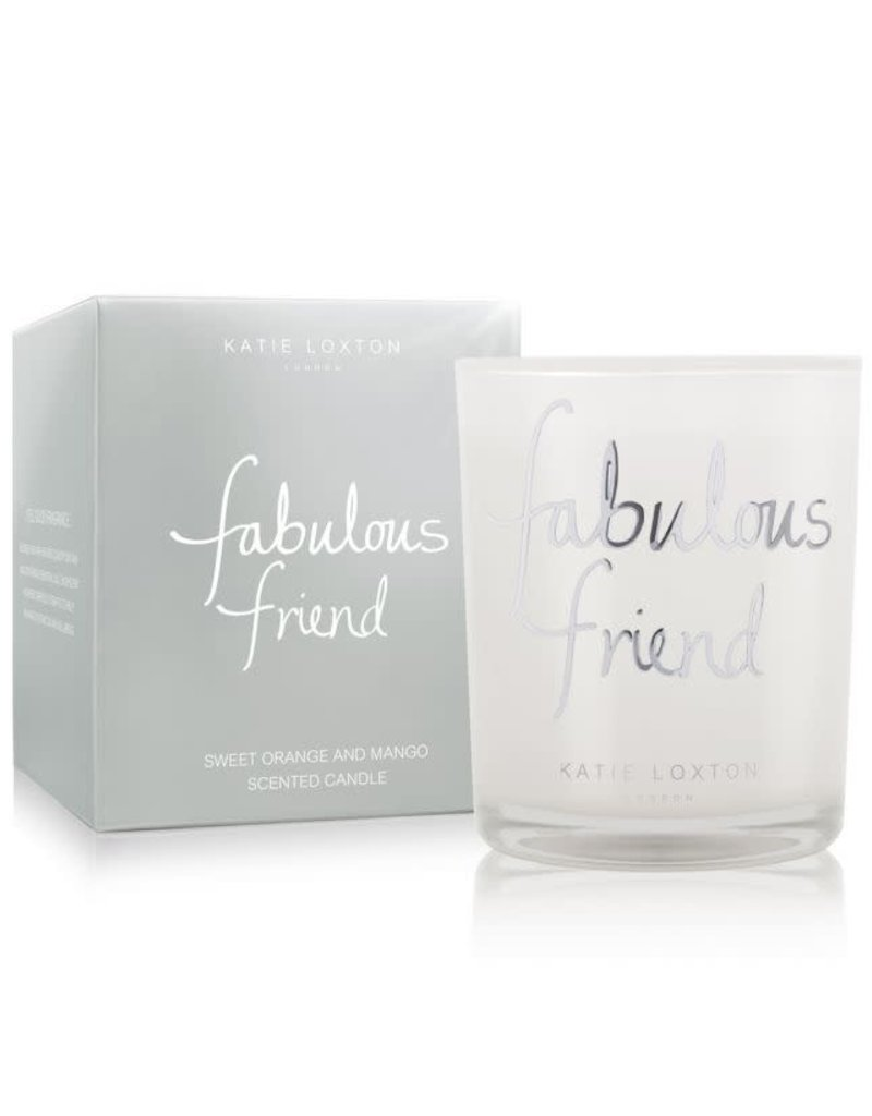 KATIE LOXTON KLC064 FABULOUS FRIEND CANDLE