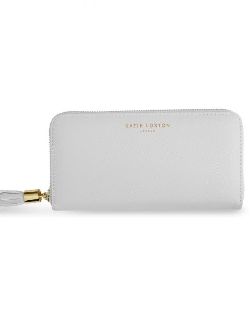 KATIE LOXTON *KLJ2774 FAMILY ENGRAVED YELLOW GOLD BAR WITH AMETHYST STONES - BRACELET