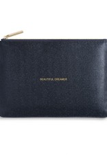 KATIE LOXTON KLB344 PERFECT POUCH - BEAUTIFUL DREAMER - BLUE SHIMMER - 16X24CM