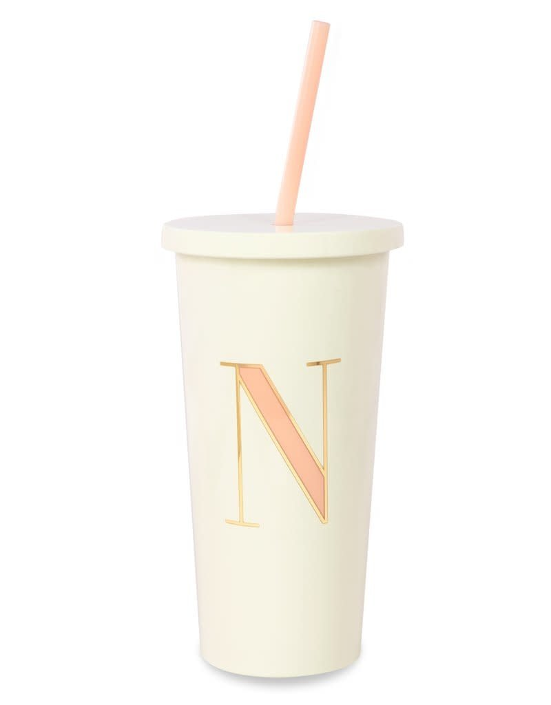 KATE SPADE It's Personal Initial Collection Insulated Tumbler