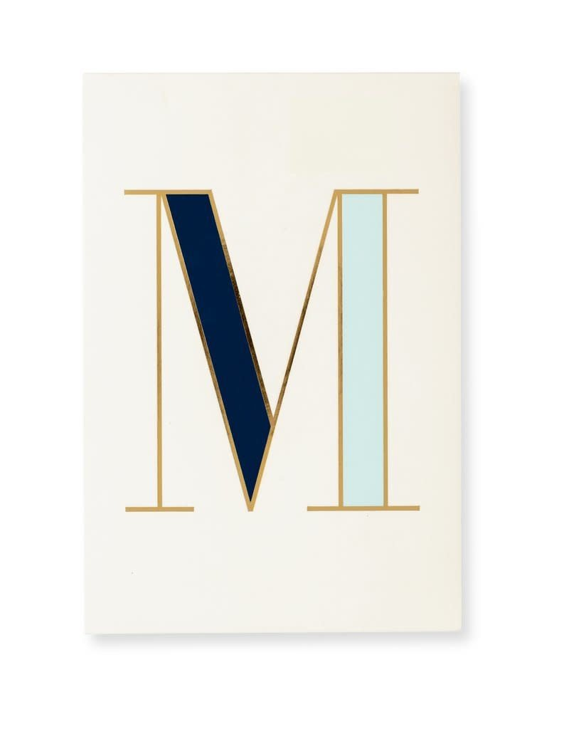 KATE SPADE It's Personal Initial Collection Notepad