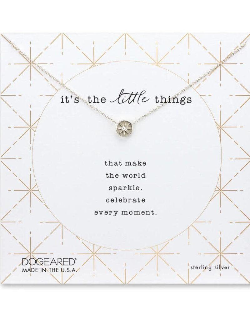 It's the little things, Crystal Circle necklace
