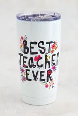 NATURAL LIFE WB058 Best Teacher Ever Tumbler