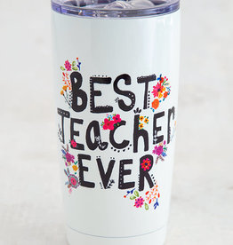 NATURAL LIFE WB058 Best Teacher Ever Tumbler
