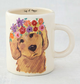 NATURAL LIFE MUG320 Retriever Embossed Mug