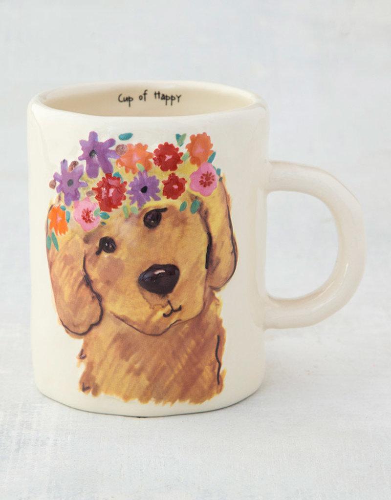 NATURAL LIFE MUG320 Retriever Embossed Mug