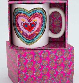 NATURAL LIFE MUG336 Boxed Mug Cup Of Love
