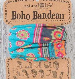 NATURAL LIFE BBW007 Turquoise Medallion Boho Bandeau