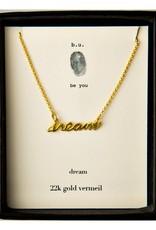 B U N98V dream Necklace Gold