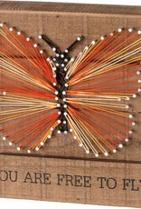 """36321 STRING ART - FREE TO FLY 8"""" x 8"""" x 1.75"""""""