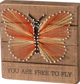 "36321 STRING ART - FREE TO FLY 8"" x 8"" x 1.75"""