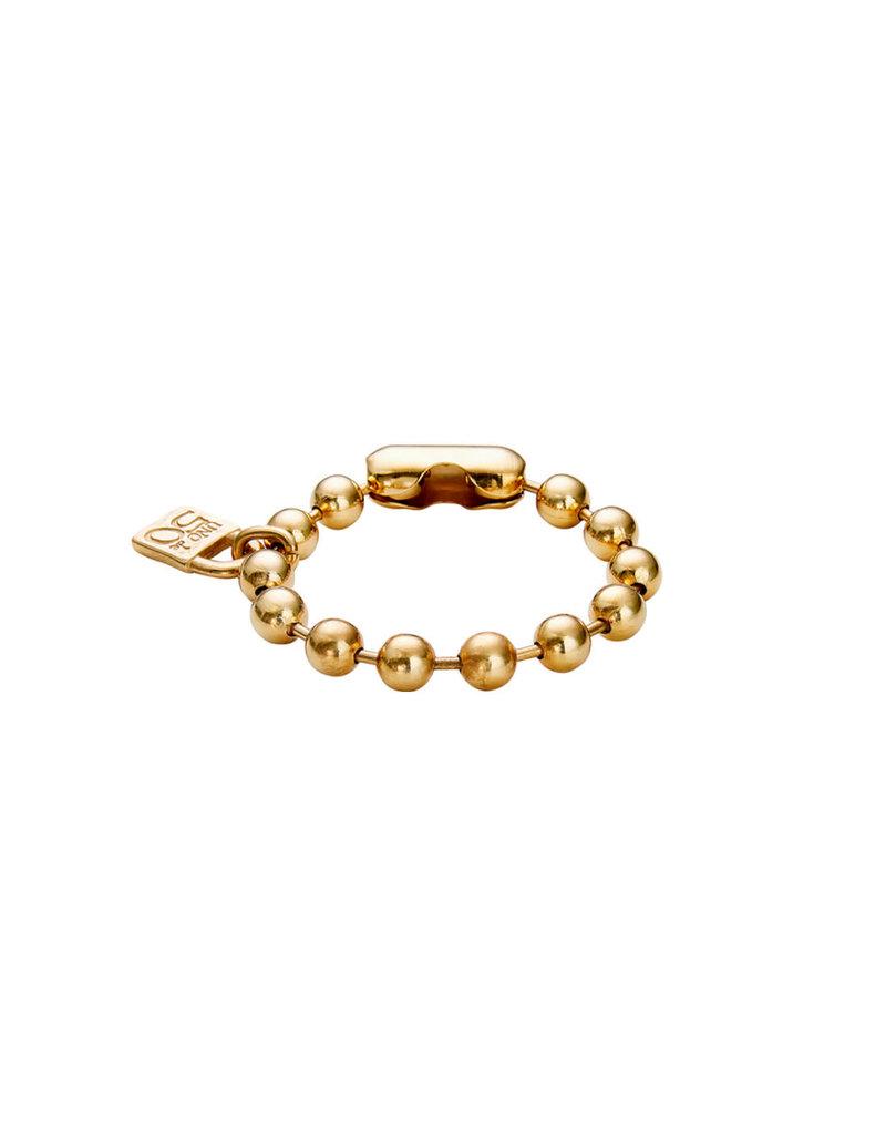 UNO DE 50 Copy of PUL1215MTL0000M Metal bracelet clad with silver characteristic of Uno de 50 clad with silver.