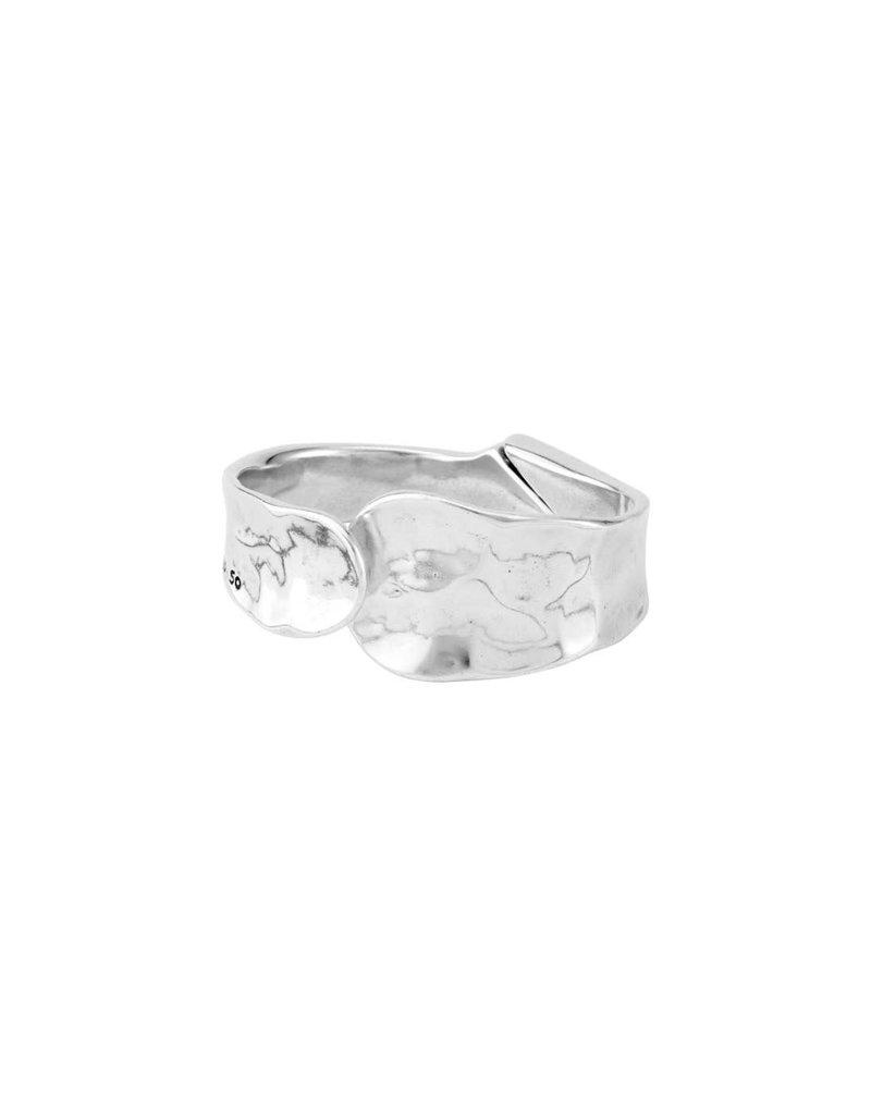 UNO DE 50 PUL1806MTL0000M Rigid bracelet in metal clad with silver