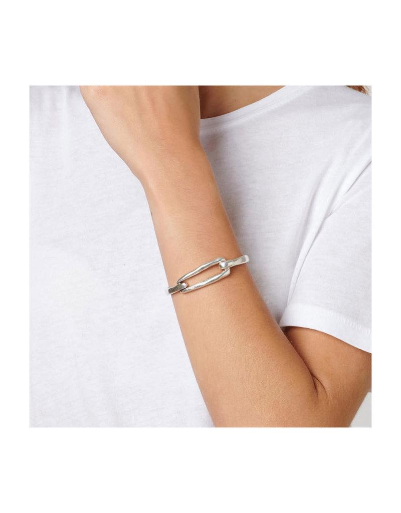 UNO DE 50 PUL1721MTL0000M Metal bracelet clad with silver