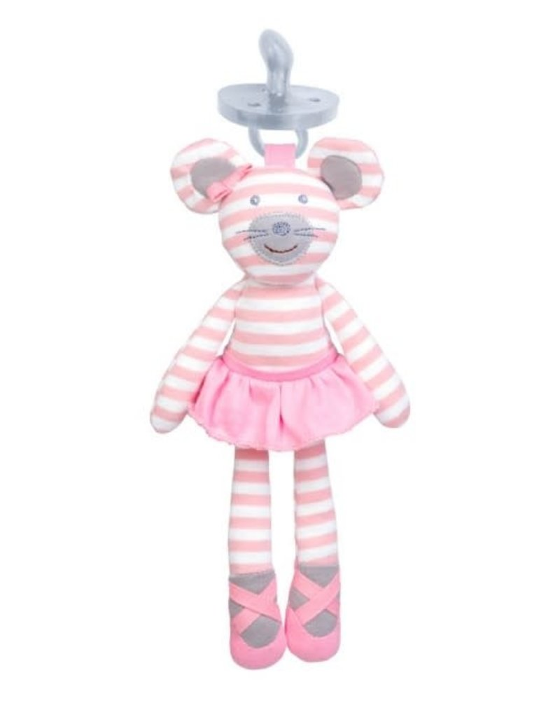 TF149 BALLERINA MOUSE PACIFIER BUDDY