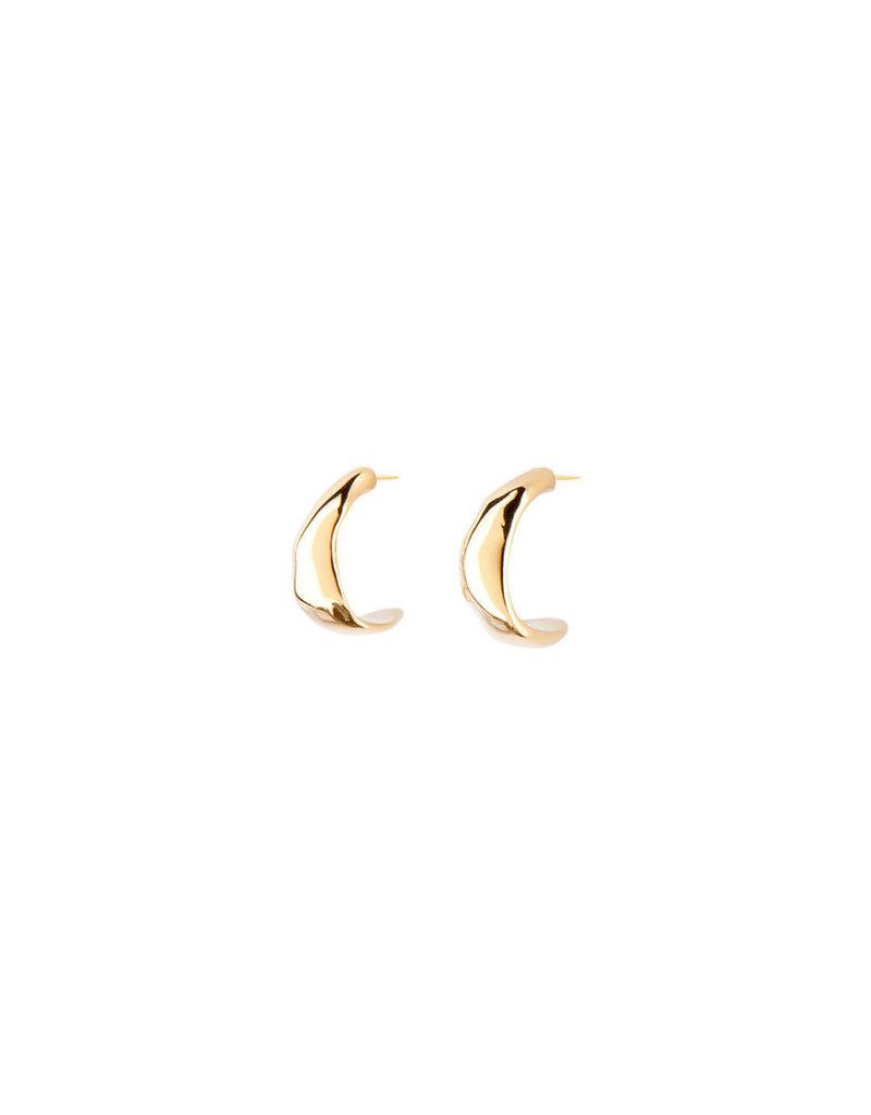 UNO DE 50 PEN0637ORO0000U Earrings in metal clad with gold.