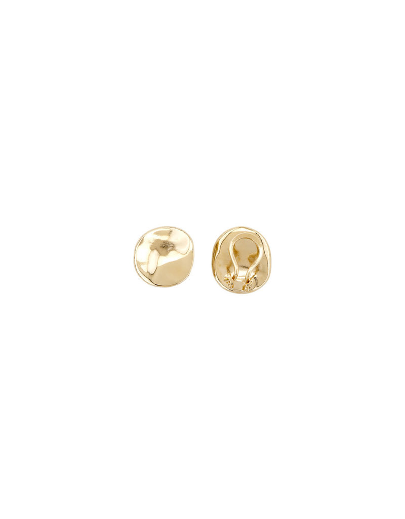 UNO DE 50 PEN0653ORO0000U Earrings in metal clad with gold.