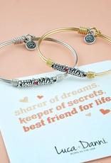 LUCA AND DANNI STC768S/SM Soul Sister Bangle Bracelet_silver tone_petite