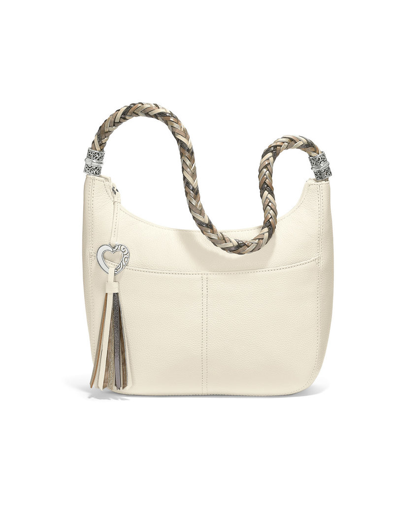 BRIGHTON H204BN BARBADOS ZIPTOP HOBO