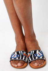 BRIGHTON AFRICA ZEBRA Sandals