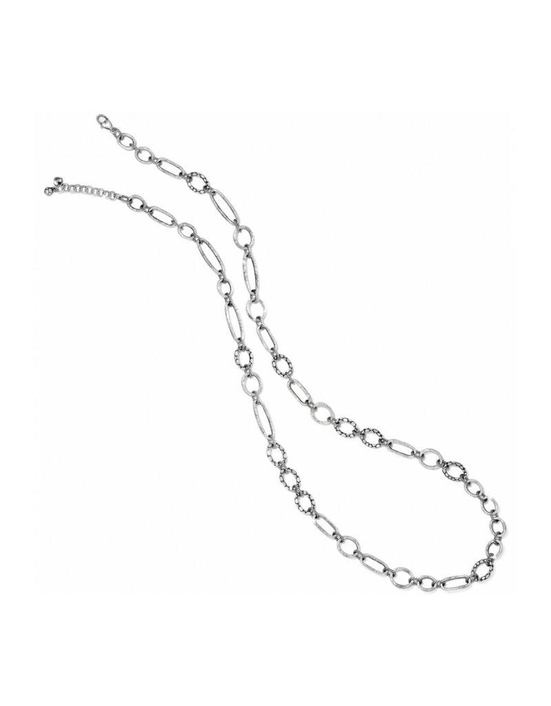 BRIGHTON JN9060 PEBBLE MINI LINK LONG NECKLACE