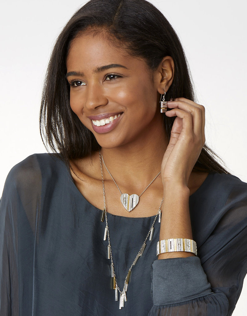 BRIGHTON JL9733 TAPESTRY DROPS NECKLACE