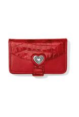 BRIGHTON E3128L BELLISSIMO HEART CARD CASE
