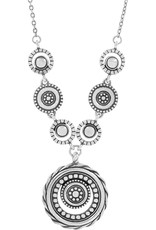 BRIGHTON JL7891 HALO ECLIPSE NECKLACE
