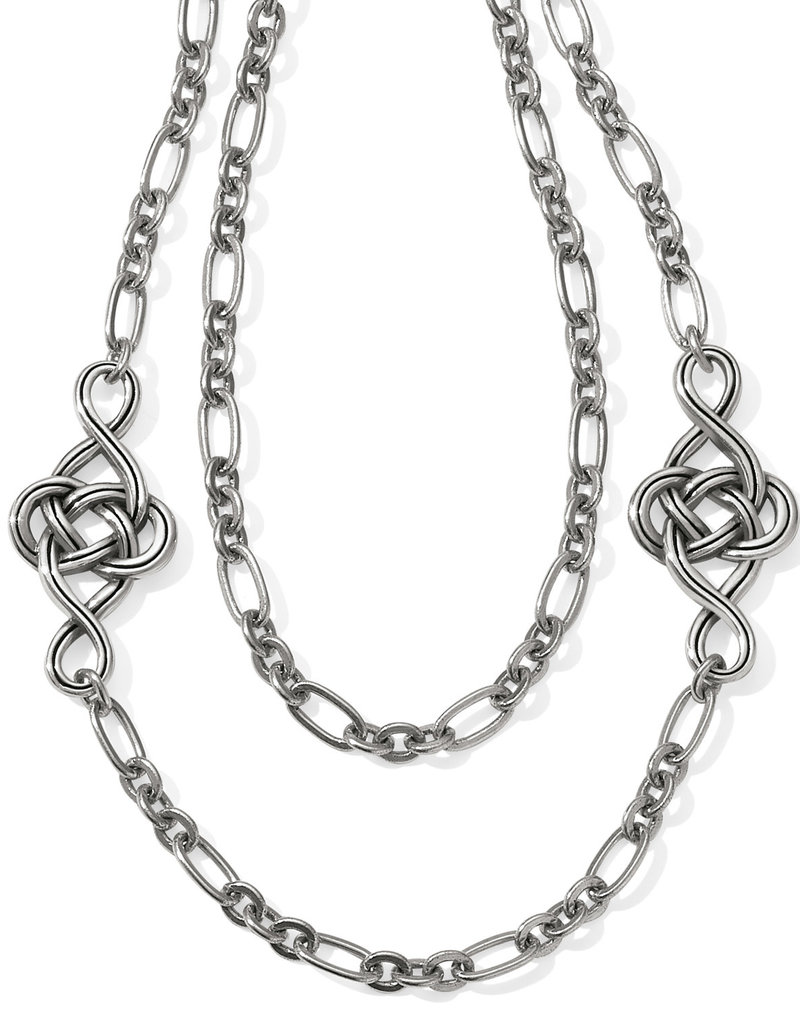 BRIGHTON JL9540 INTERLOK KNOT LAYER NECKLACE