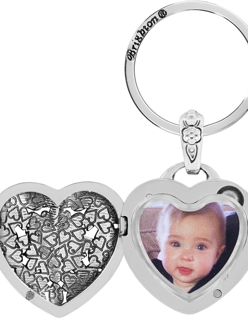 BRIGHTON E12192 FLORAL HEART KEY