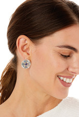 BRIGHTON JA6273 HALO RAYS ROUND POST EARRINGS