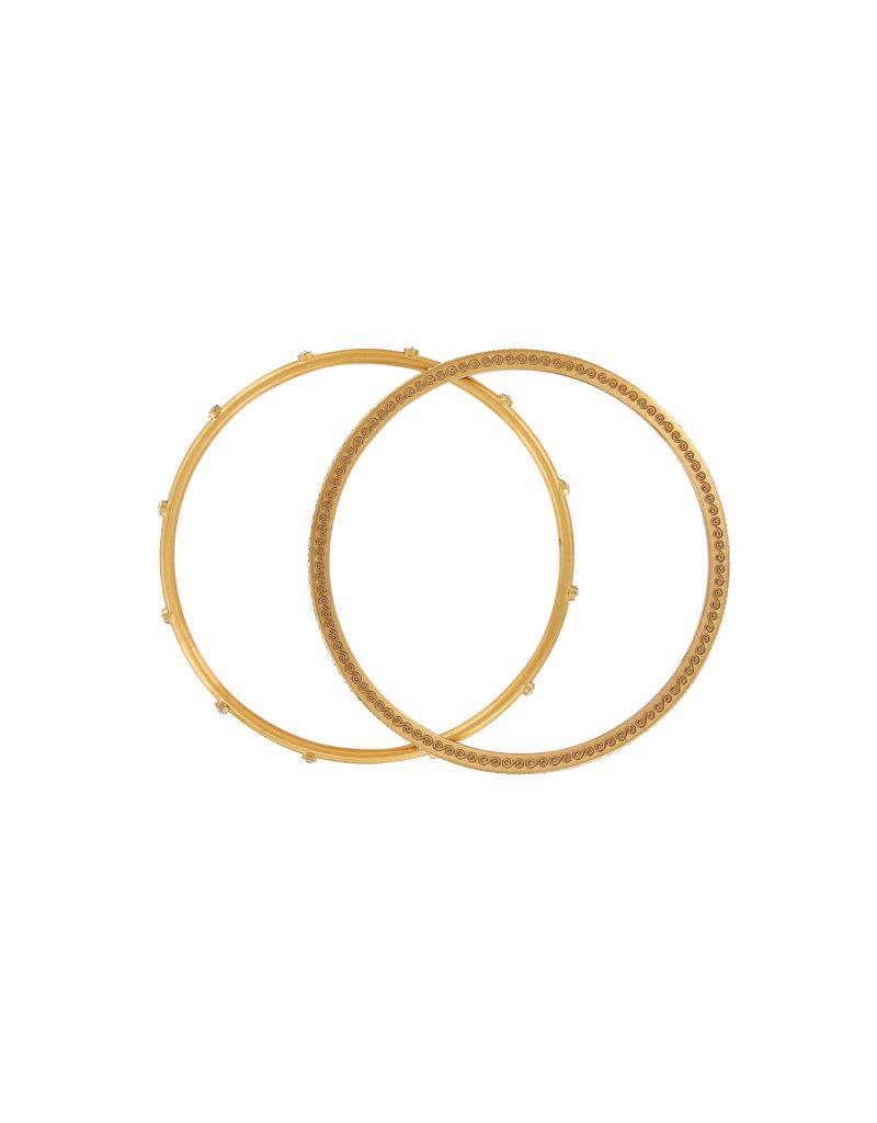 BRIGHTON JF4285 NEPTUNE'S RINGS PAVE BANGLE SE