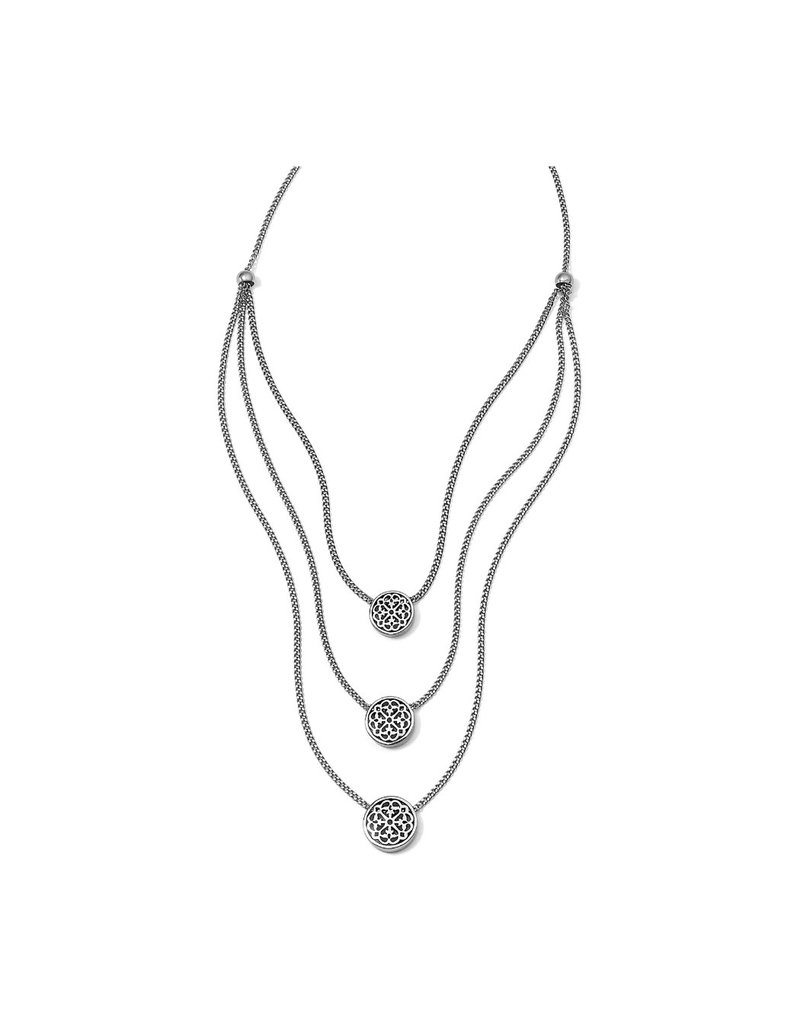 BRIGHTON JM0140 FERRARA TRIO LAYER NECKLACE