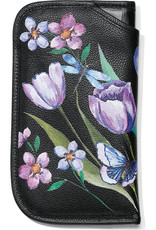 BRIGHTON E52633 NOIR JARDIN DOUBLE EYEGLASS CASE