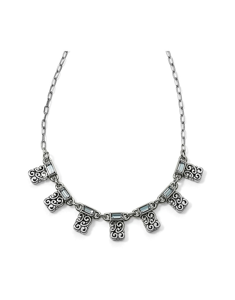 BRIGHTON JM0391 BARONESS PETITE STATION NECKLACE