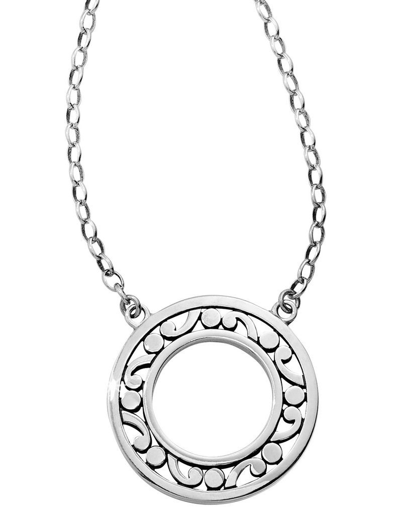 BRIGHTON JM0970 CONTEMPO OPEN RING NECKLACE