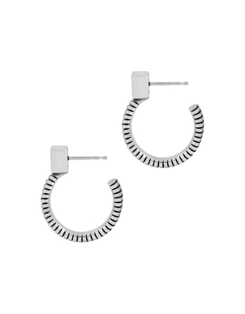 BRIGHTON JA6391 Meridian Zenith Tubogas Hoop Earrings