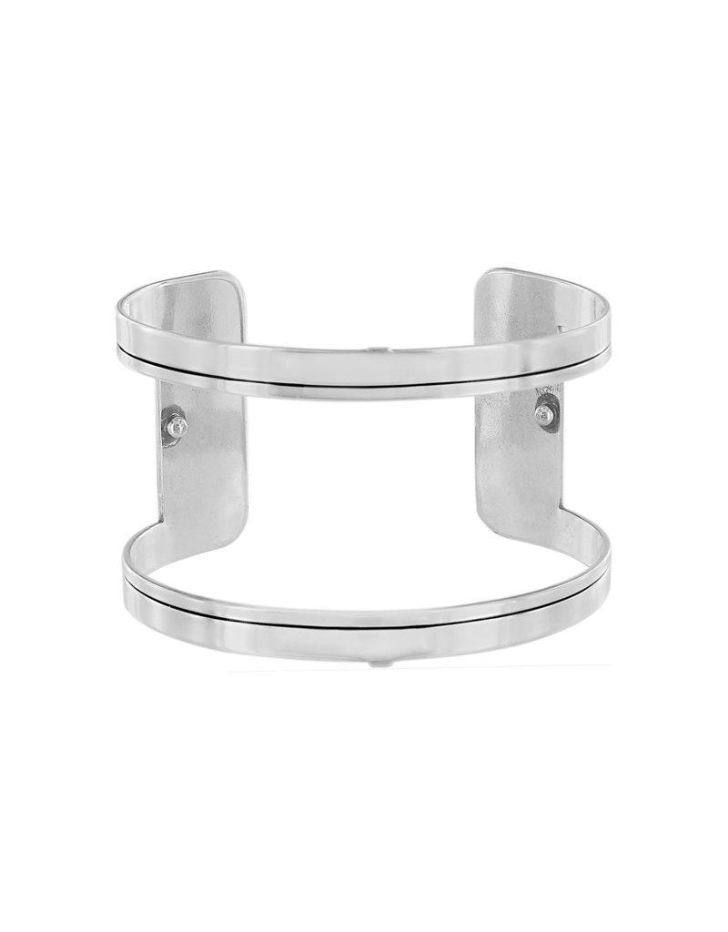 JF3500 Christo New Delhi Wide Cuff Bracelet