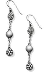 BRIGHTON JA4871 Pebble Mix Trio French Wire Earrings
