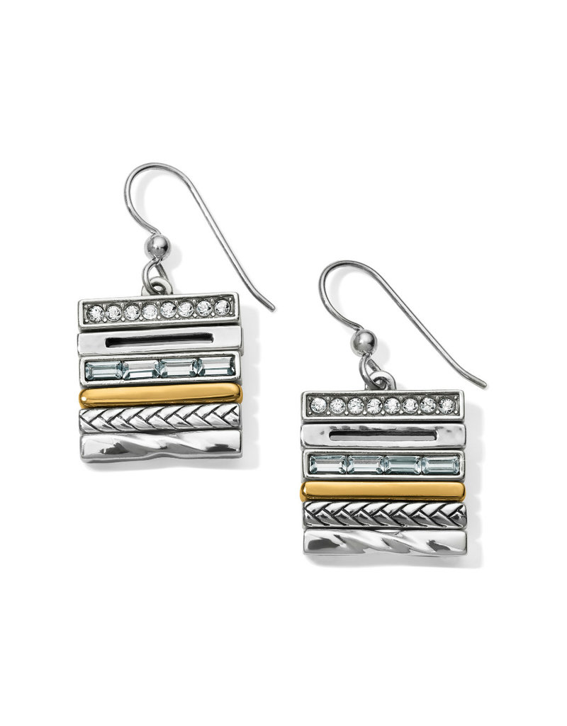 BRIGHTON JA4753 TAPESTRY FRENCH WIRE EARRINGS