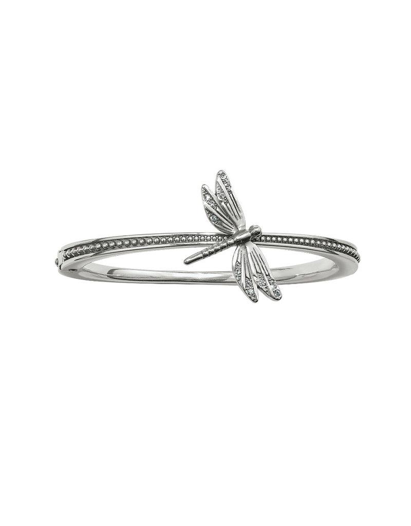 BRIGHTON JF6170 Solstice Dragonfly Hinged Bangle