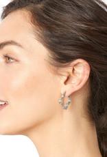 BRIGHTON JA5631 Toledo Collective Pave Hoop Earrings