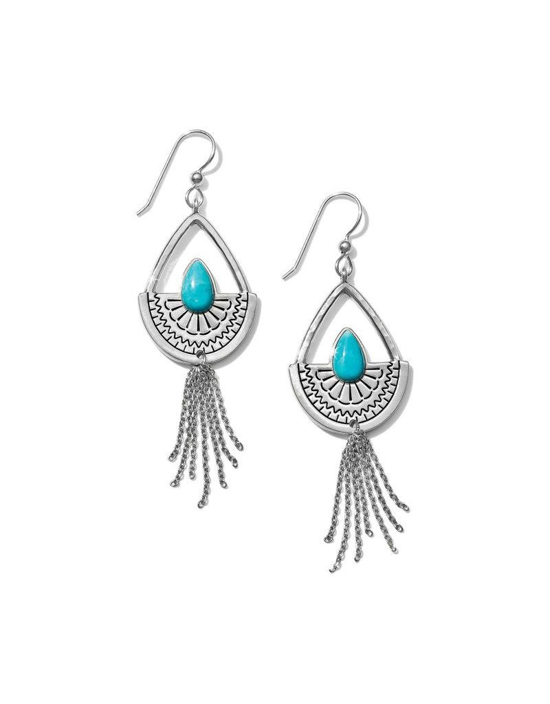 BRIGHTON JA5593 Marrakesh Mesa Tassel French Wire Earrings