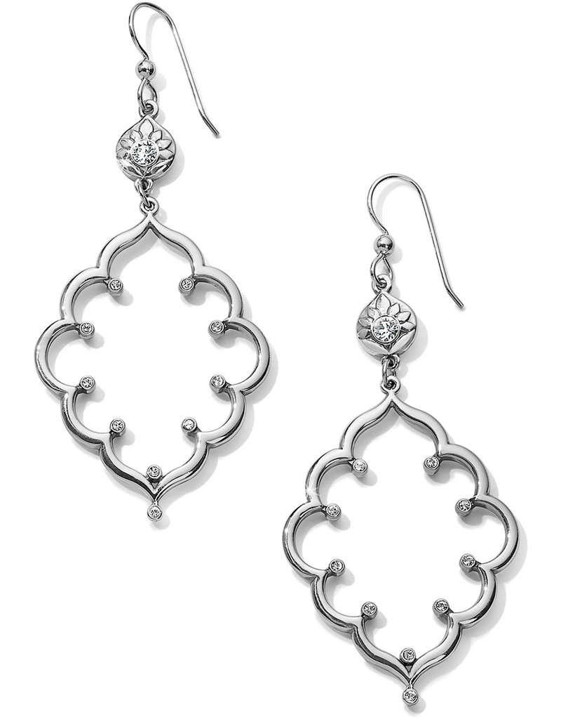 BRIGHTON JA6191 Journey To India Lotus French Wire Earrings
