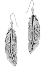 BRIGHTON JA4061 Contempo Ice Feather French Wire Earrings