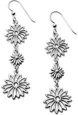 BRIGHTON JA5500 Enchanted Garden Petal French Wire Earrings