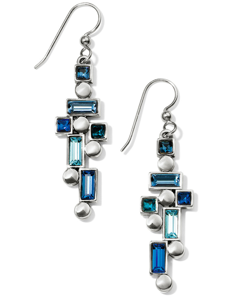 BRIGHTON JA5673 Blue Showers French Wire Earrings